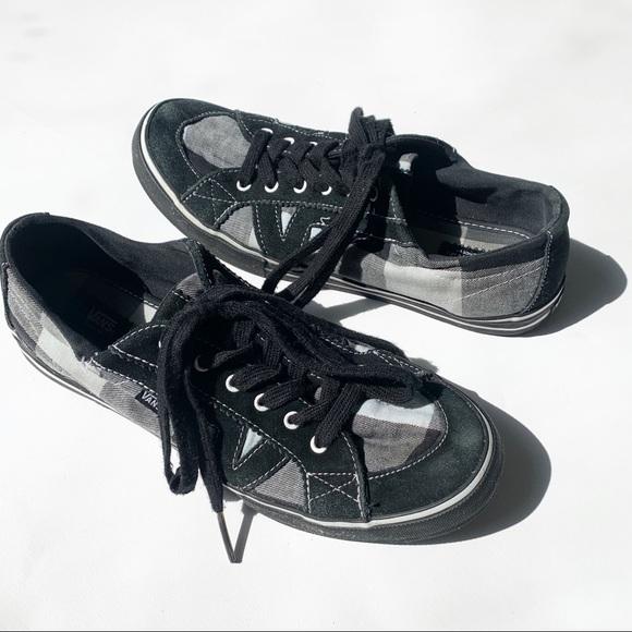 Vans Tory Buffalo Plaid Skate Shoe